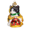 Holiday Kitten Ornament by Old World Christmas