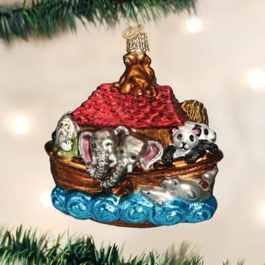 Noah's Ark Ornament by Old World Christmas