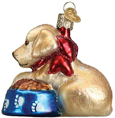 Labrador Pup Ornament by Old World Christmas