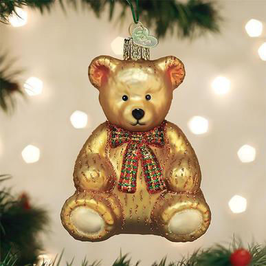 Teddy Bear Ornament by Old World Christmas