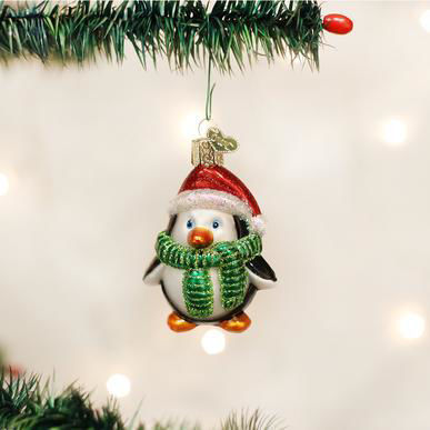 Playful Penguin Ornament by Old World Christmas