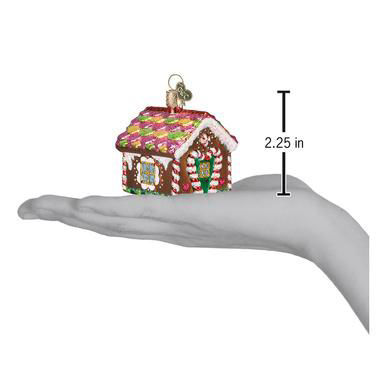 Gingerbread House Ornament by Old World Christmas