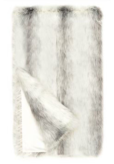 Icelandic Fox Faux Fur Throw by Donna Salyers Fabulous Furs