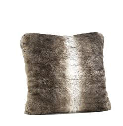 Grey Rabbit Pillow by Donna Salyers Fabulous Furs