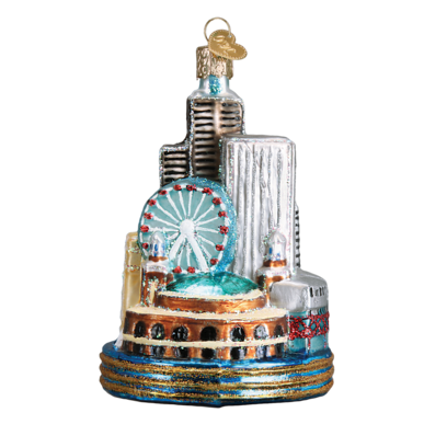 Chicago Ornament by Old World Christmas