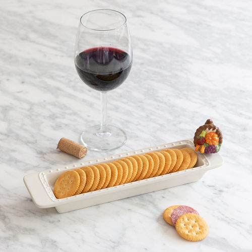 Cracker Tray by Nora Fleming