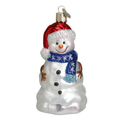 Happy Snowman by Old World Christmas