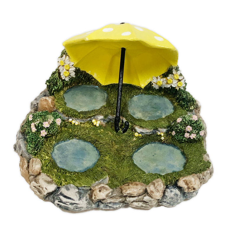 Rainy Day Displayer  (Yellow) by Habitat Hideaway