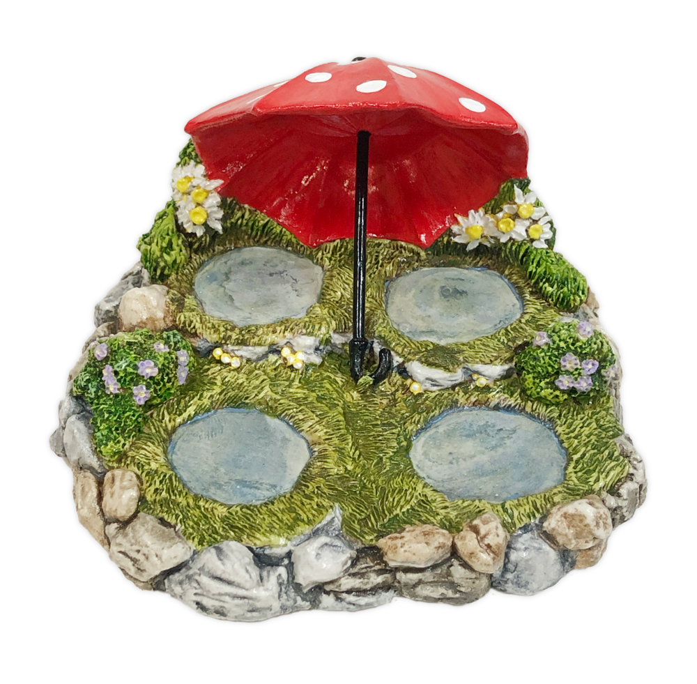 Rainy Day Displayer  (Red) by Habitat Hideaway
