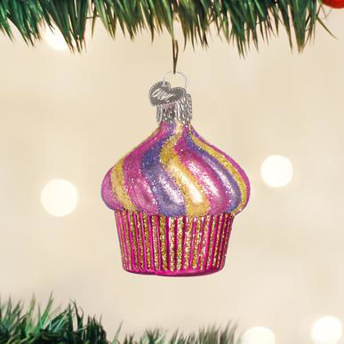 Cupcake Ornament by Old World Christmas