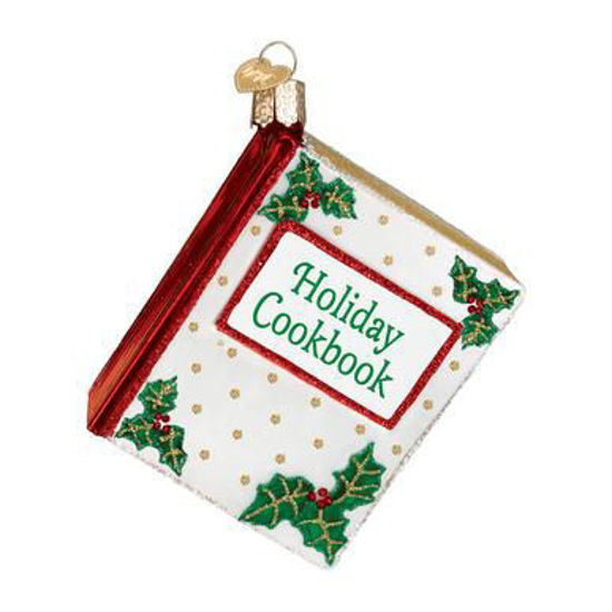Christmas Cookbook Ornament by Old World Christmas