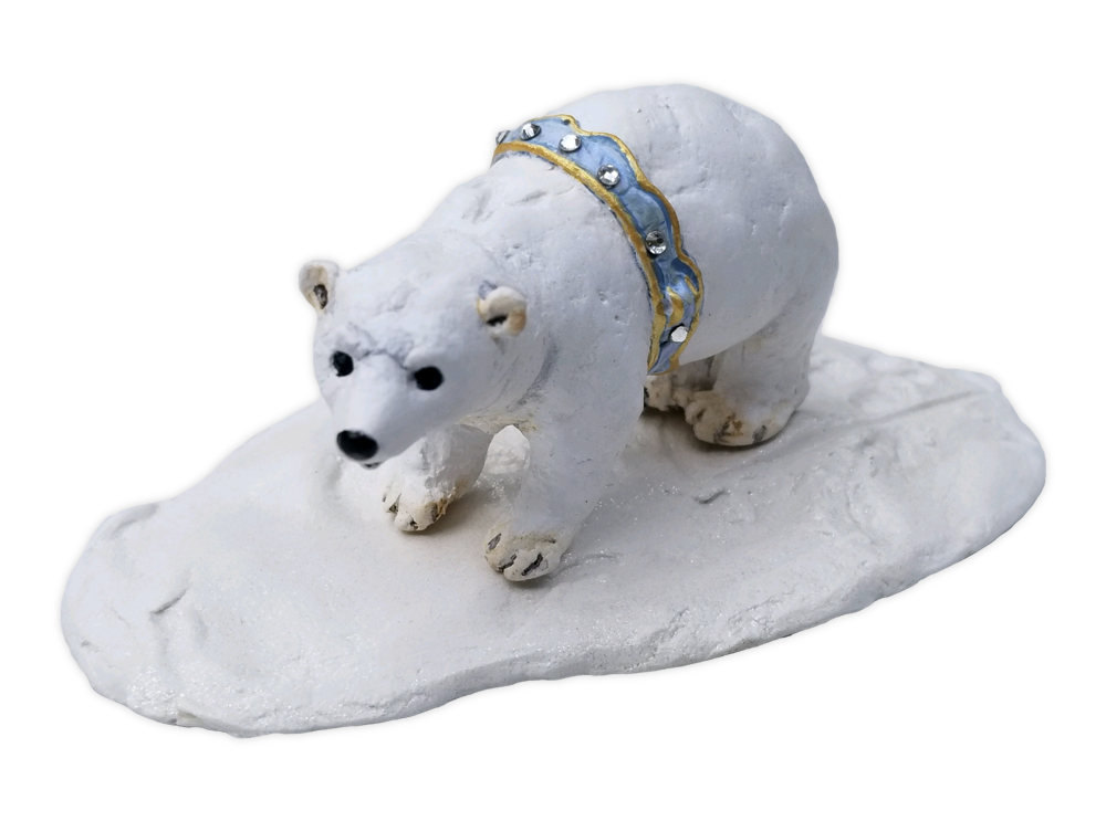 SOLD OUT - Arctic Polar Bear by Wee Forest Folk®