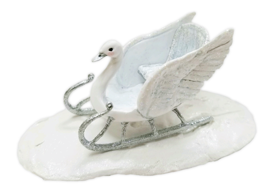 SOLD OUT - The Swan Sleigh by Wee Forest Folk®