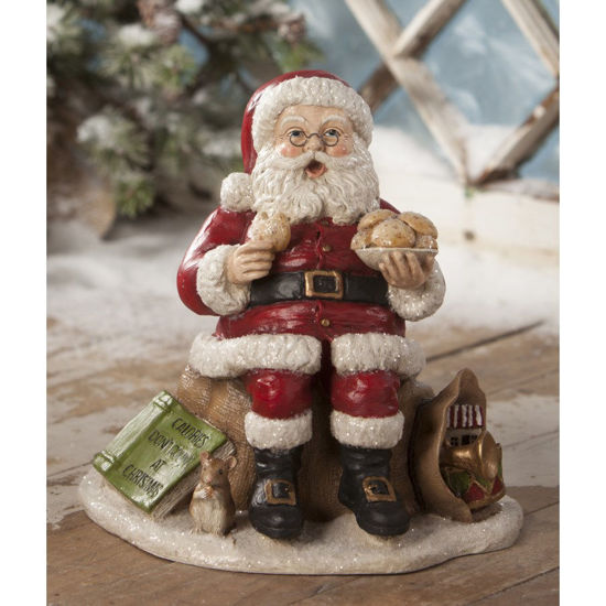 Counting Calories Santa by Bethany Lowe