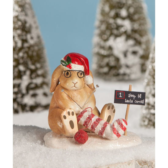 Santa's Stocking Bunny by Bethany Lowe Designs