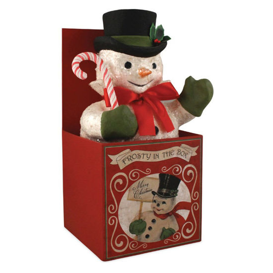 Frosty in Box by Bethany Lowe