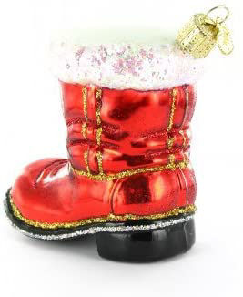 Santa's Boot Ornament by Old World Christmas
