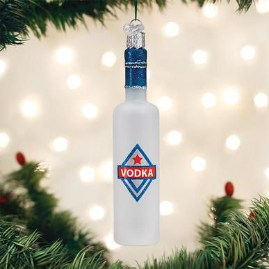 Vodka Bottle Ornament by Old World Christmas