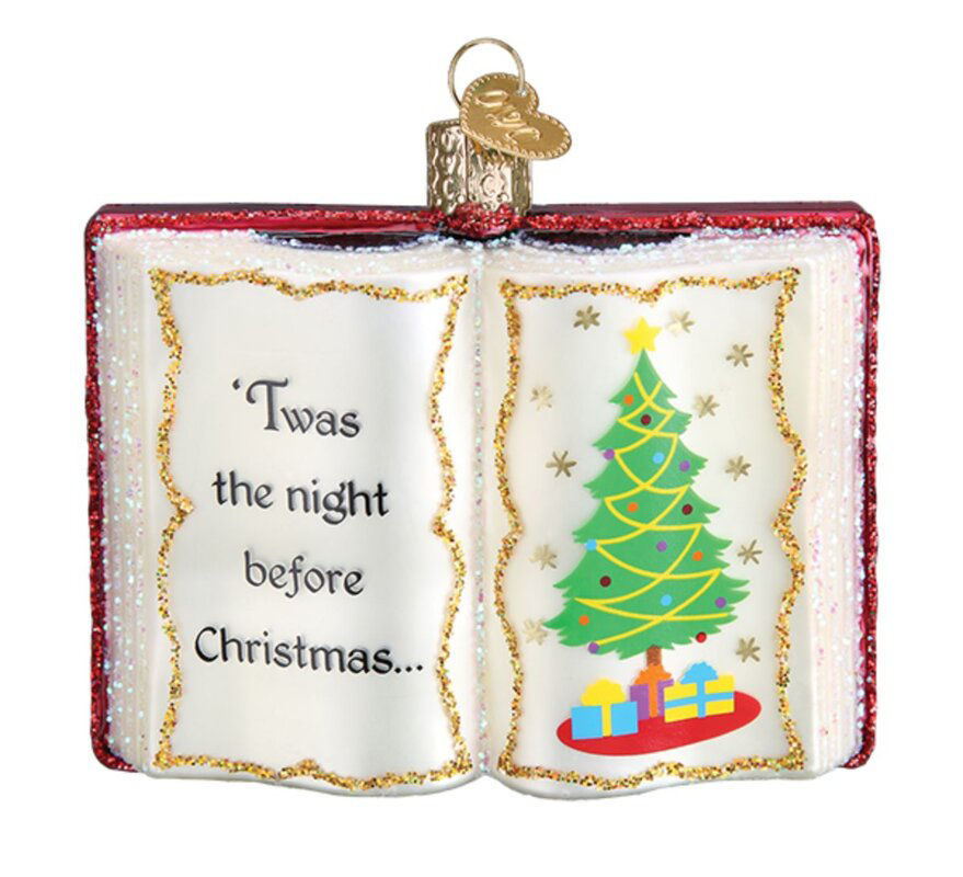 The Night Before Christmas Ornament by Old World Christmas