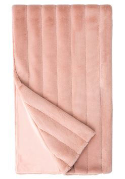 Mauve Mink Posh Faux Fur Throw by Donna Salyers Fabulous Furs