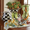 Courtly Check Wood Paper Towel Holder by MacKenzie-Childs