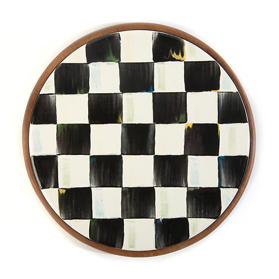 Courtly Check Enamel Trivet by MacKenzie-Childs