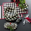 Courtly Check Enamel Dinner Coupe by MacKenzie-Childs