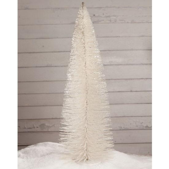 "Winter White Glitter Tree 36"" by Bethany Lowe"