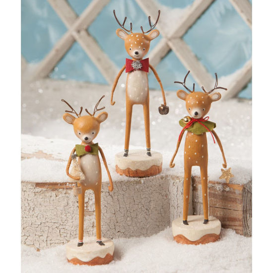 Dasher, Dancer & Prancer by Bethany Lowe