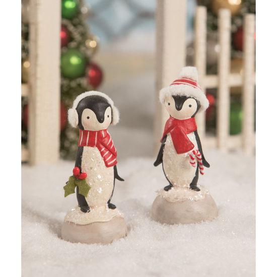 Winter Penguin Set by Bethany Lowe