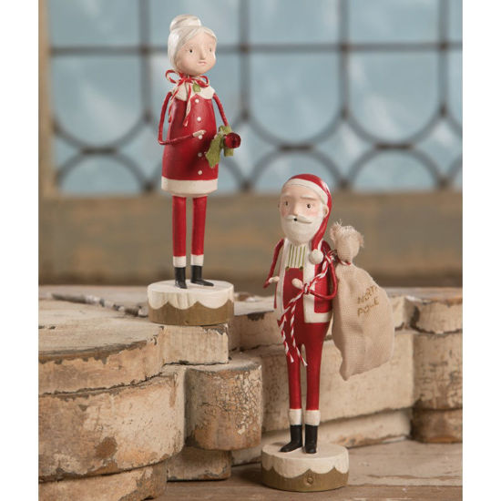 Santa & Mrs. Claus Set by Bethany Lowe