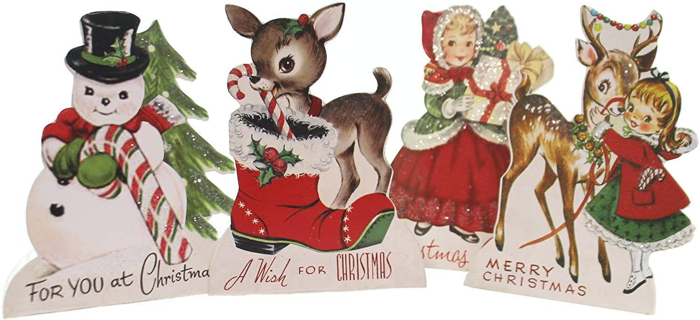 Retro Christmas Friends Dummy Board by Bethany Lowe Designs
