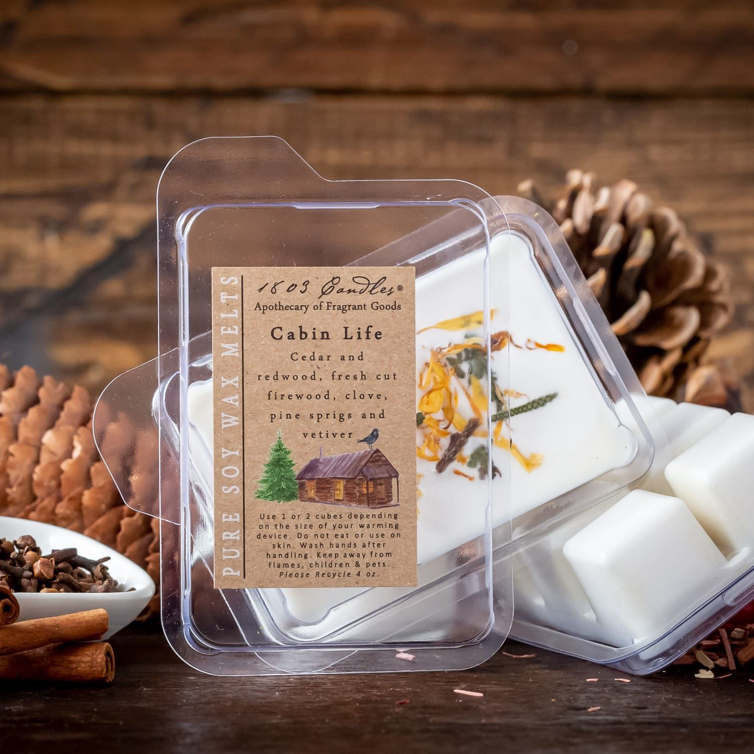 Cabin Life Melter by 1803 Candles