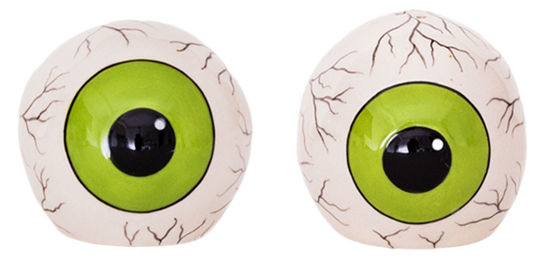 Eyeball Salt & Pepper Set by Blue Sky Clayworks