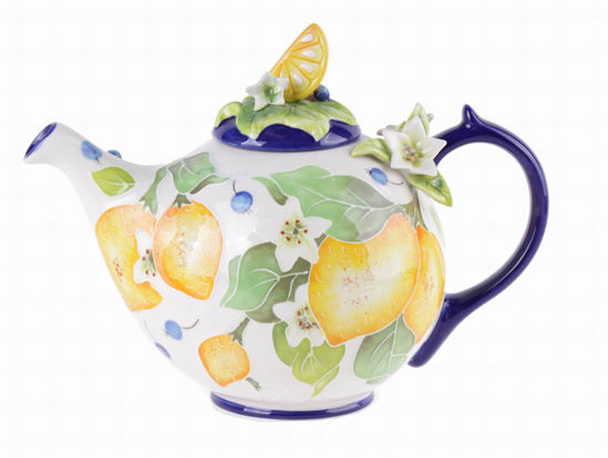 Lemon Teapot by Blue Sky Clayworks