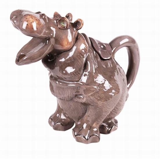 Hippo Teapot by Blue Sky Clayworks