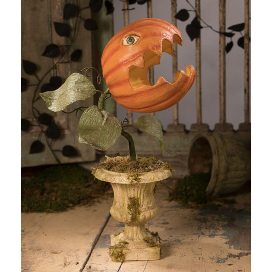 Prickly Pumpkin Plant Large Paper Mache by Bethany Lowe Designs