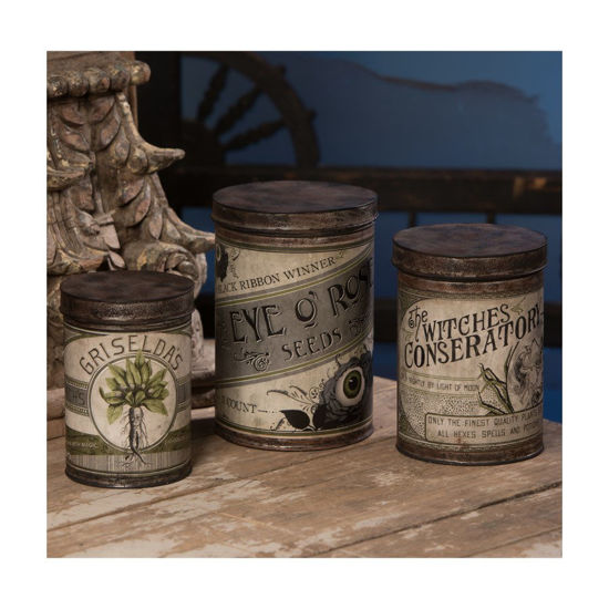 Witch's Conservatory Canister by Bethany Lowe Designs