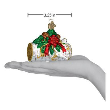 Yule Log Ornament by Old World Christmas
