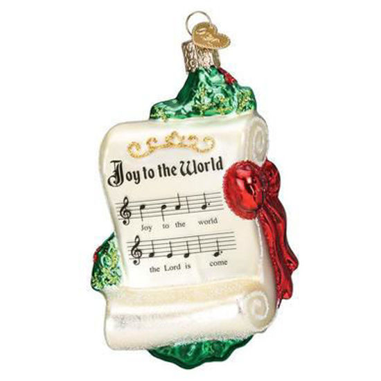 Joy to the World Ornament by Old World Christmas