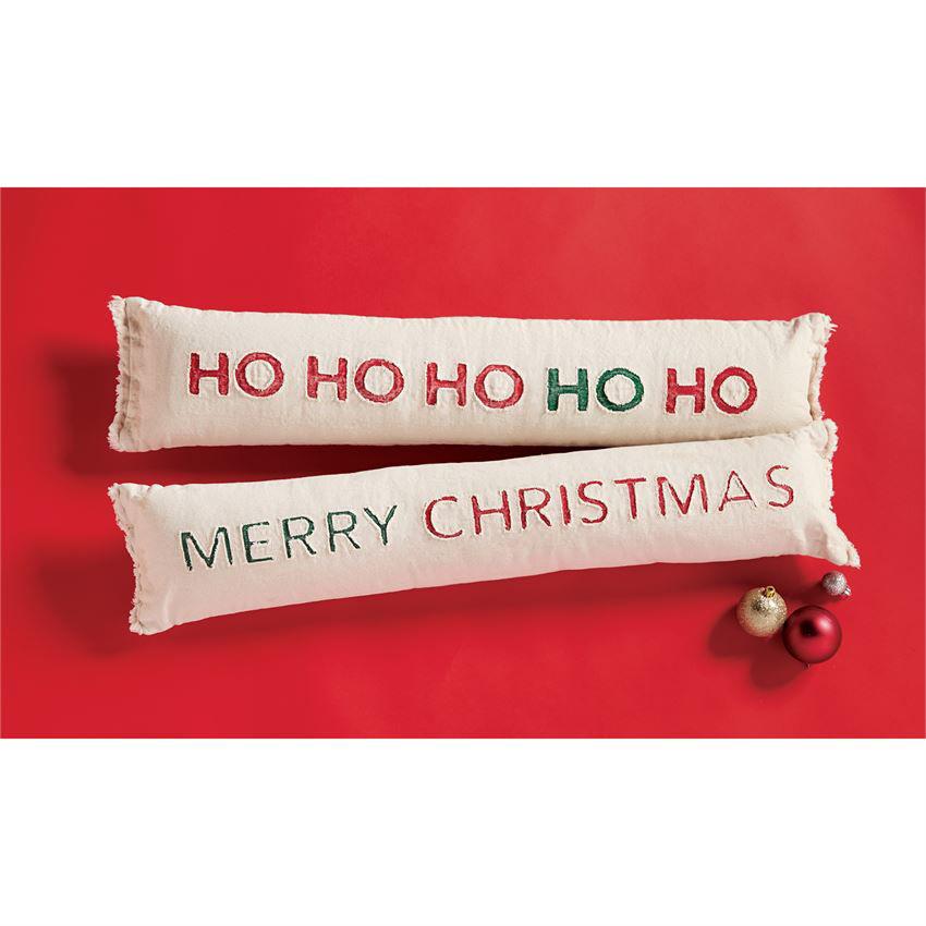 Christmas Skinny Pillows by Mudpie