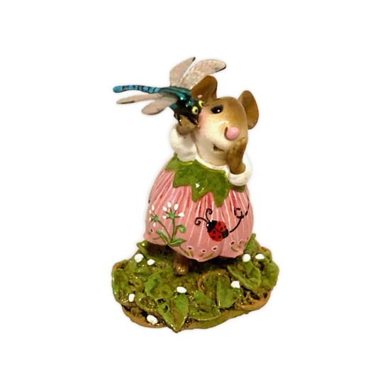Summer Pretty Perch in Pink Version 1 BY WEE FOREST FOLK®