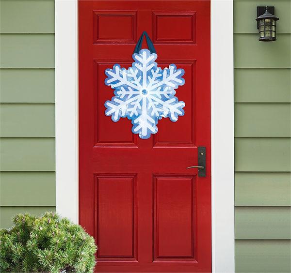 Ice Crystals Door Decor by Studio M