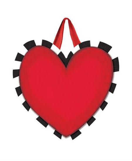 Heart with Stripes Door Decor by Studio M