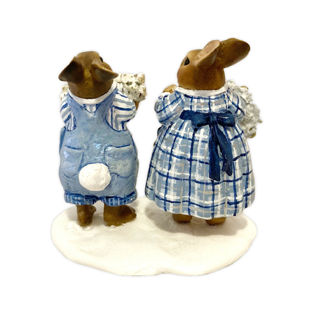 Lot 08 - Winter's Hares OAK BY WEE FOREST FOLK®