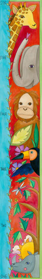 Animal Friends Growth Chart by Sincerely, Sticks