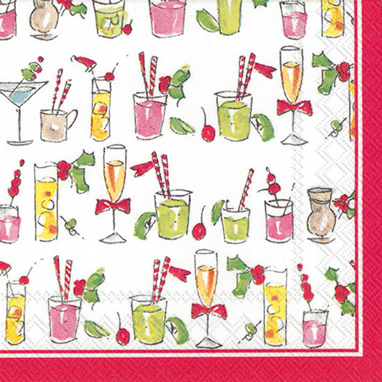 Fun Cocktails Cocktail Napkin by Boston International