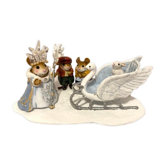 Lot 10 - Snow Queen Diorama OAK BY WEE FOREST FOLK®