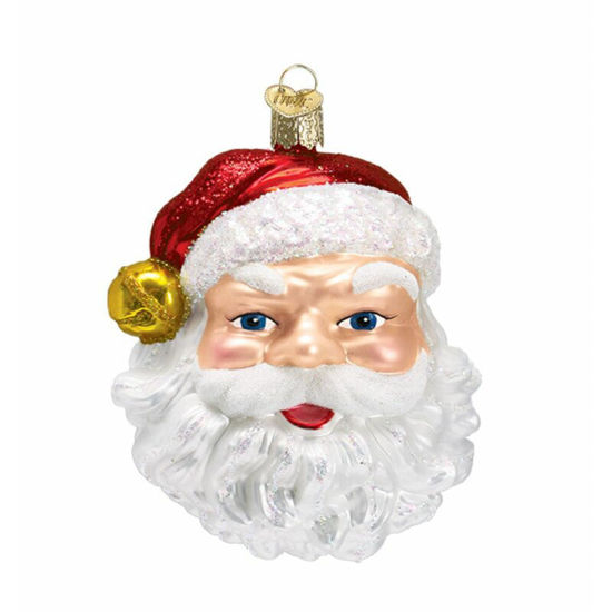 Jingle Bell Santa Ornament by Old World Christmas