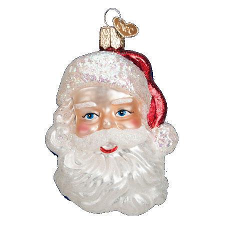 Mid-century Santa Head by Old World Christmas